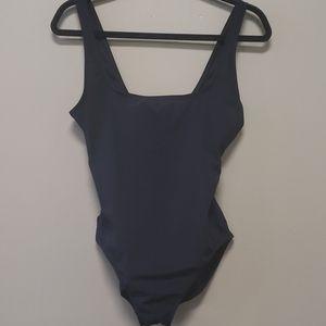 Michael Kors One Piece Black Swimsuit
